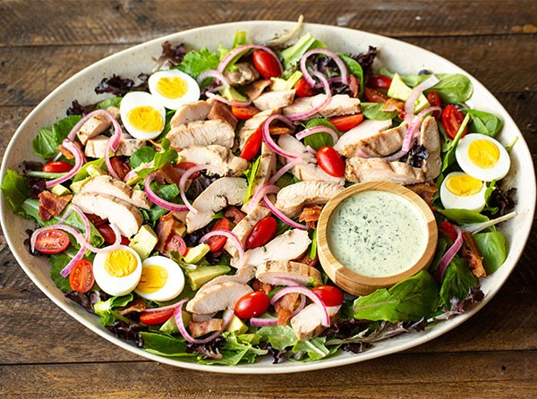 Green Goddess Chicken Cobb Salad